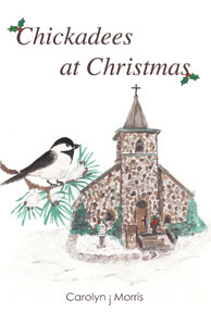 Chickadees at Christmas